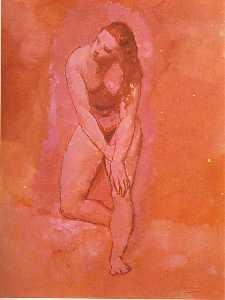 Nude, study to ''Harem''