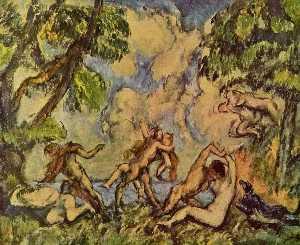 Bacchanalia. The Battle of Love