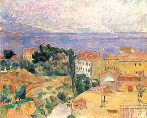 View of L'Estaque