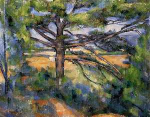 Large Pine and Red Earth
