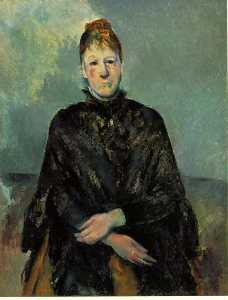 Portrait of Madame Cezanne