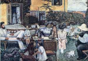 The Bourgeois Afternoon or The Terrasse Family