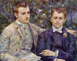 Portrait of Charles and Georges Durand Ruel