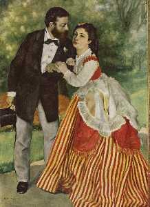 Portraitofthe coupleSisley