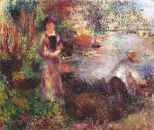 On the banks of the Seine at agenteuil