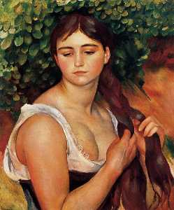 The Braid (Suzanne Valadon)
