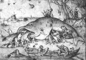 Big fishes eat small fishes