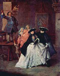 Wikioo.org - The Encyclopedia of Fine Arts - Artist, Painter  Pietro Longhi