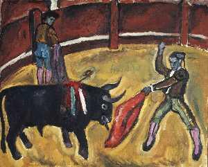 Bullfight. Study.