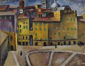 Piazza della Signoria in Siena
