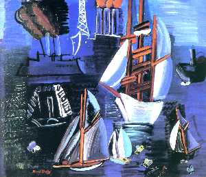 Boats in Le Havre