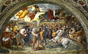 Pope Leo I Repulsing Attila