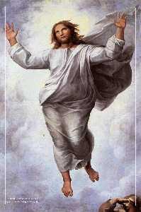 The Transfiguration (detail)