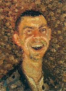 Self-Portrait Laughing