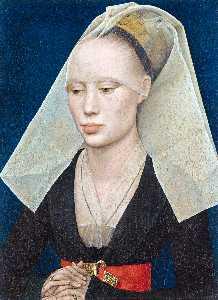 一位女士的画像