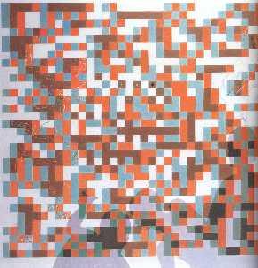 Cybernetic Odalisuqe-Homage to Bela Julesz