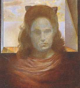 Portrait of Gala (Gala Against the Light)