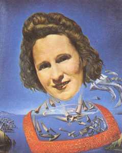 Portrait of Gala with Rhinocerotic Symptoms