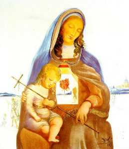 The Madonna and the Mystical Rose