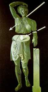 Woman with Egg and Arrows