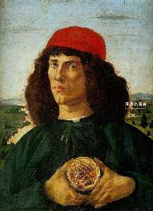 Portrait of aManwiththe Medalof Cosimo