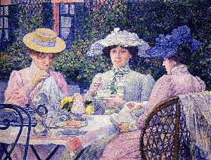 Summer Afternoon (Tea in the Garden)