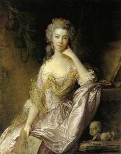 Portrait of Mrs. Drummond