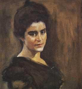 Portrait of Sophia Dragomirova-Lukomskaya