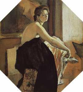 Portrait of Yelena Oliv