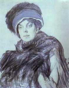 Portrait of Izabella Grunberg