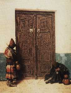 At the Door of a Mosque