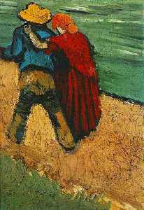 Two Lovers, Arles (Fragment)