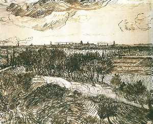 View of Arles from a Hill