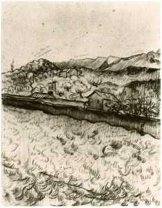 Mountain Landscape Seen across the Walls 2