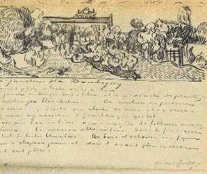 Daubigny's Garden with Black Cat