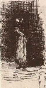 Scheveningen Woman Standing