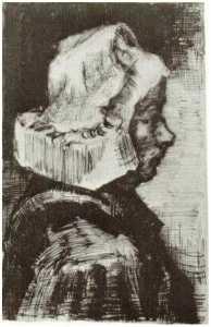 Peasant Woman, Head (10)
