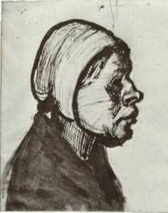 Peasant Woman, Head (11)