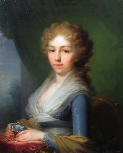 Portrait of Empress Elisabeth Alexeievna