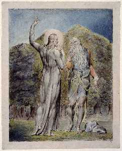 Christ Tempted by Satan to Turn the Stones to Bread