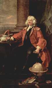 Portrait of Captain Coram