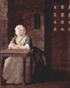 Portrait of Sarah Macholm in Prison