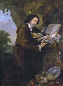 Portrait of en'Francis Dashwood, 15th Baron of Despencer