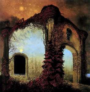 Wikioo.org - The Encyclopedia of Fine Arts - Artist, Painter  Zdislav Beksinski