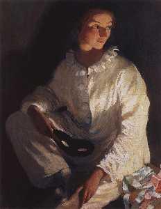 Pierrot (Self portrait in the costume of Pierrot)