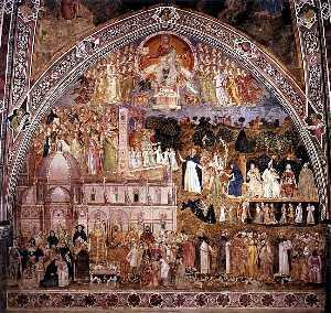 Wikioo.org - The Encyclopedia of Fine Arts - Artist, Painter  Andrea Di Bonaiuto (Andrea Da Firenze)