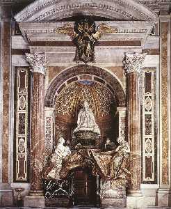 Tomb of Pope Alexander (Chigi) VII