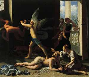 Martha Rebuking Mary for her Vanity