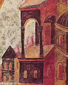 St Matthew (detail)