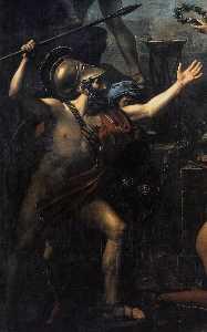 Leonidas at Thermopylae (detail)